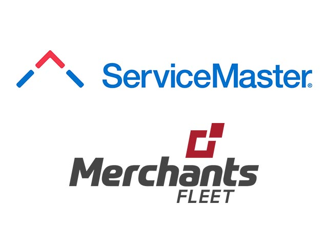 ServiceMaster and Merchants Fleet logos